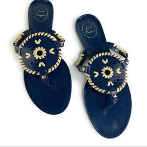 Jack Rogers Jelly Flip Flop Georgica Thong Sandals
